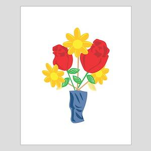 Roses Flower Vase Floral Posters