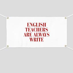English teachers are always write, quote, grammar,