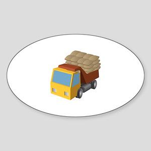Children Toy Truck Sticker