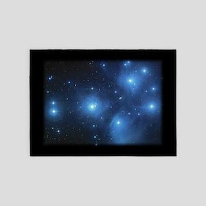 Blue Pleiades 5'x7' Area 5'x7'area Rug