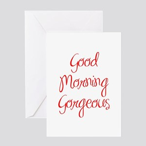 greeting cards good morning gorgeous mug quote humor sexy mo