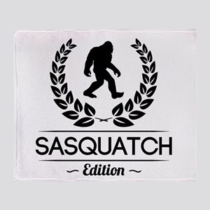 Sasquatch Edition Throw Blanket