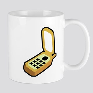 Cartoon Cell Phone Mugs