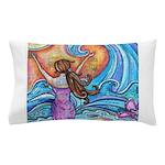 Beach Girl Wave Hawaii Pillow Case