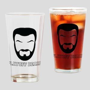 Playoff Beard Pint Drinking Glass