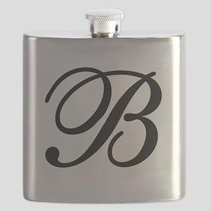 INITIAL B MONOGRAM Flask