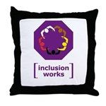 [inclusion works] Throw Pillow