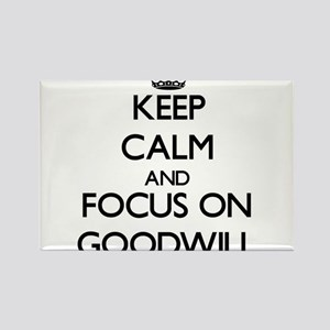 Keep Calm and focus on Goodwill Magnets