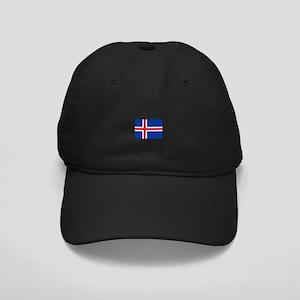 iceland flag Black Cap