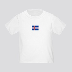 iceland flag Toddler T-Shirt
