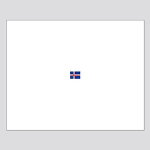 iceland flag Small Poster