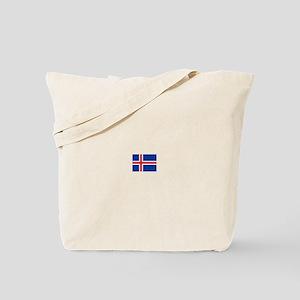 iceland flag Tote Bag