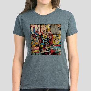 Thor Collage Women's Dark T-Shirt