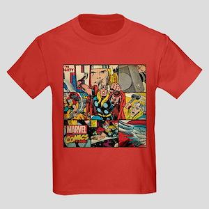 Thor Collage Kids Dark T-Shirt