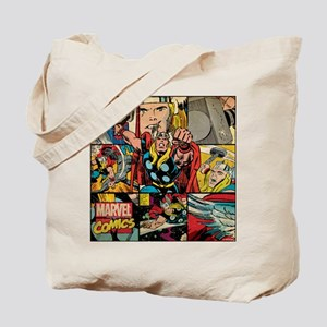 Thor Collage Tote Bag