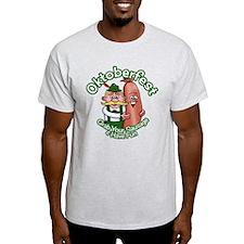 Oktoberfest Grab Sausage 2014 Light T-Shirt