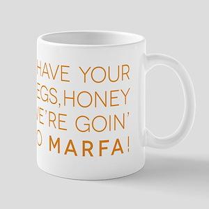 marfa words Mugs