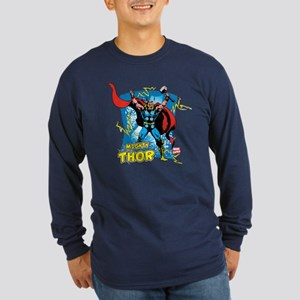 Mighty Thor Long Sleeve Dark T-Shirt