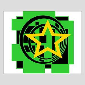Star, Circles, Squares Posters Small Poster