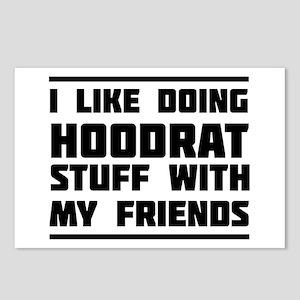 I like doing hoodrat stuff with my friends Postcar