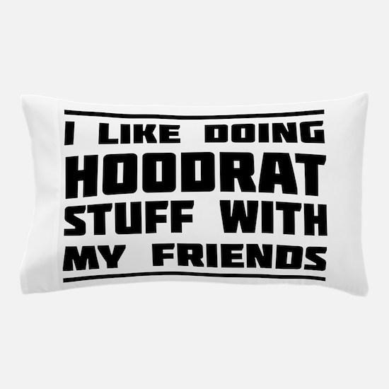 I like doing hoodrat stuff with my friends Pillow