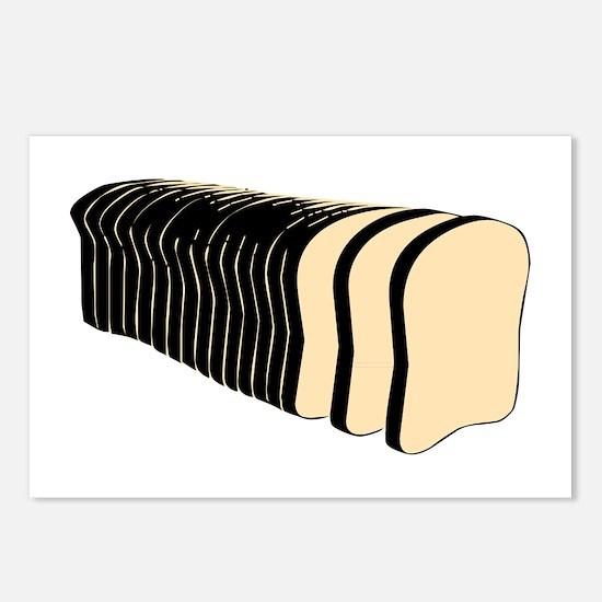 Loaf of Sliced Bread Postcards (Package of 8)