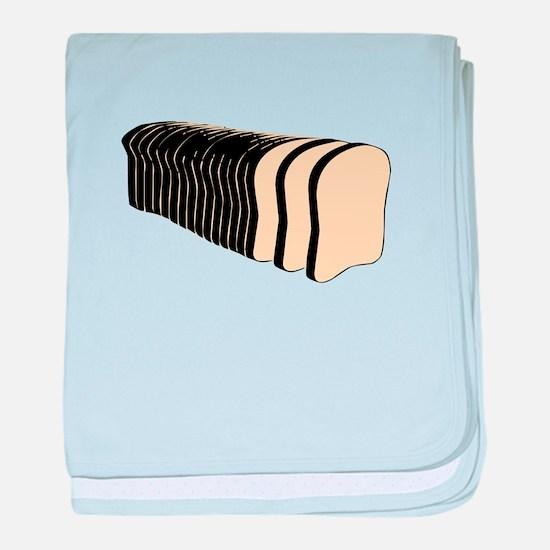 Loaf of Sliced Bread baby blanket