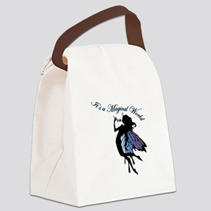 Its a Magical World Canvas Lunch Bag