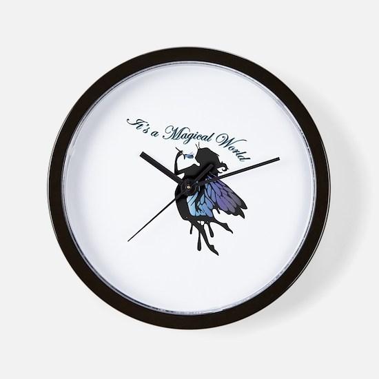 Its a Magical World Wall Clock