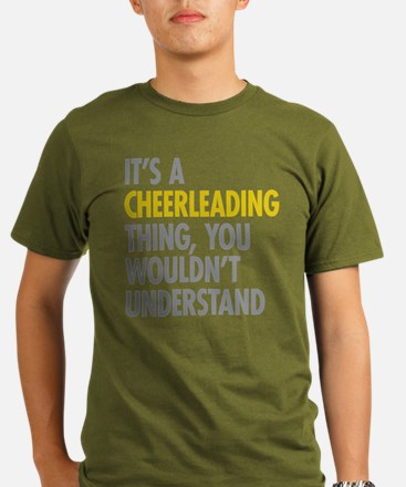 Its A Cheerleading Th Organic Men's T-Shirt (dark)
