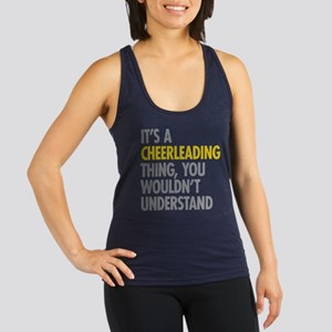 Its A Cheerleading Thing Racerback Tank Top