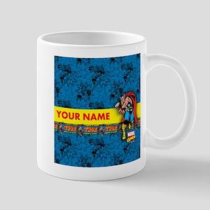 Marvel Comics Thor Personalized Mug