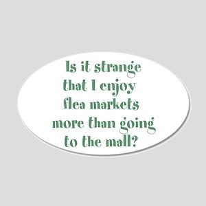 Flea Market Crazy Wall Decal