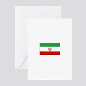 iran flag Greeting Cards (Pk of 10)