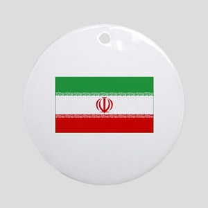 iran flag Ornament (Round)
