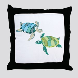 Sea Turtles Throw Pillow