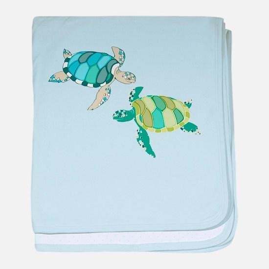 Sea Turtles baby blanket