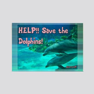 Save the Dolphins! Magnets