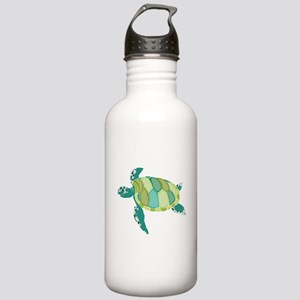 Green Sea Turtle Water Bottle
