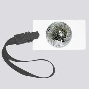 Spazzoid Disco Ball Large Luggage Tag