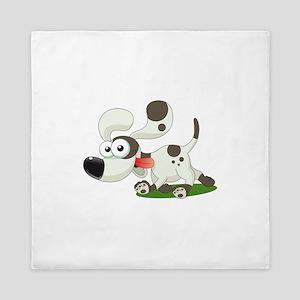 Dalmatian Puppy Dog Queen Duvet