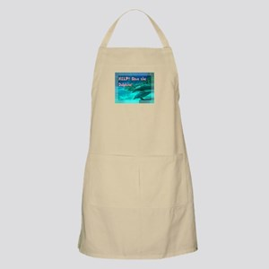Save the Dolphins! Apron