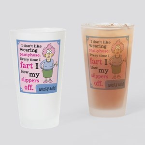 Aunty Acid: Pantyhose Drinking Glass
