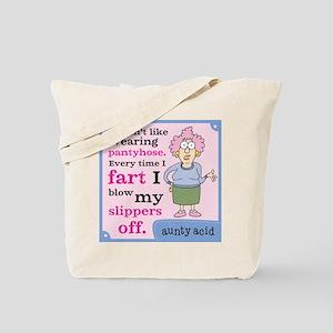 Aunty Acid: Pantyhose Tote Bag