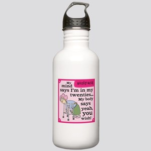 Aunty Acid: In My Twen Stainless Water Bottle 1.0L
