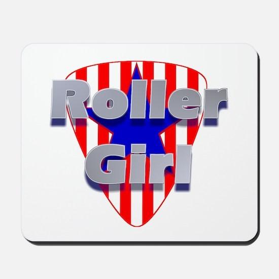 Roller Girl Mousepad