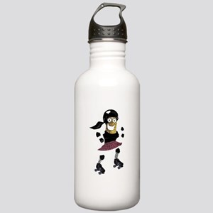Roller Derby Pickle Stainless Water Bottle 1.0L