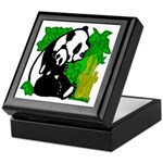 Mommy & Baby Panda Keepsake Box