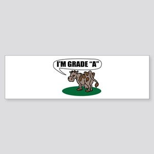 Im Grade A Bumper Sticker