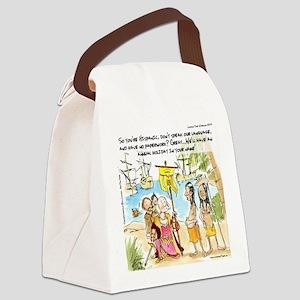 Columbus' New Neighbors Canvas Lunch Bag